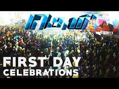 Video Theri 100cr Mass Celebration | crowd response | Ram Cinemas | VJ fans must watch download in MP3, 3GP, MP4, WEBM, AVI, FLV January 2017