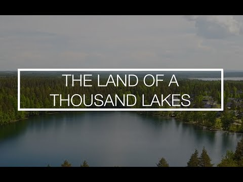 The land of a thousand lakes...