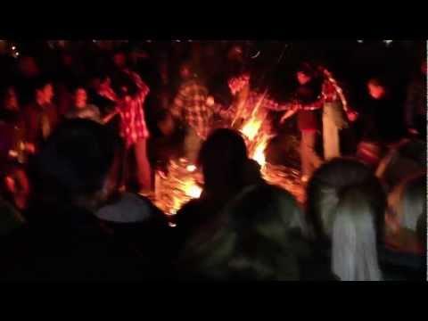 Το κάψιμο του καρνάβαλου στην Αράχοβα