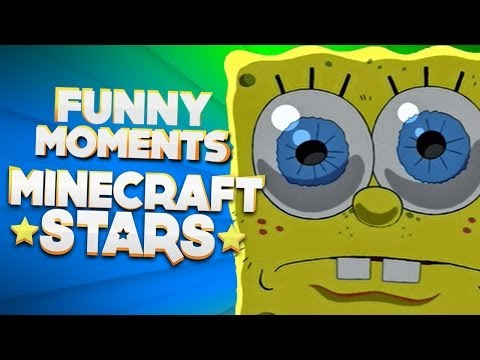 MINECRAFT STARS! - FUNNY MOMENTS #14