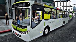 GTA 5: Mod Bus - Ônibus Apache VIP Urbano Linha 232 (Rio de J...