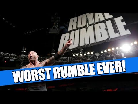 15 WORST Royal Rumble Matches in WWE History!