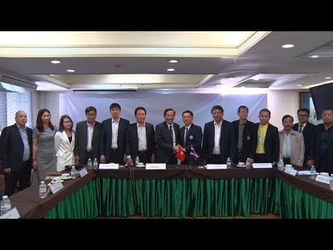Đoàn đại biểu Hội Nhà báo Việt Nam làm việc tại Thái Lan