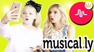 Video Trying Musical.ly Transitions w/ JoJo Siwa! MP3, 3GP, MP4, WEBM, AVI, FLV Maret 2018