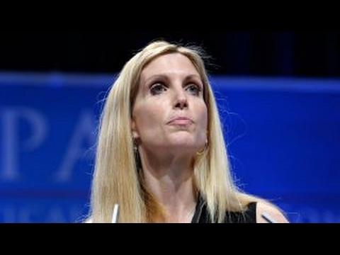 Free speech uproar: Debate heats up over Coulter at Berkeley (видео)