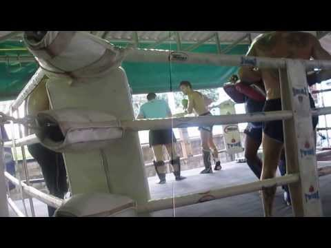 Muay Thai Training at Jun Muay Thai Camp Lamai Koh Samui Thailand 04 01 14