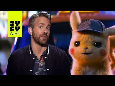 Pokémon: Detective Pikachu - Ryan Reynolds Tells Us Who Should Voice Squirtle | SYFY WIRE