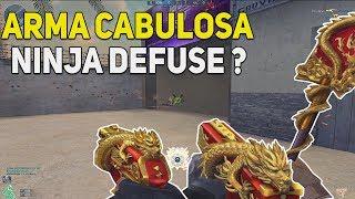ARMA CABULOSA | NINJA DEFUSE?