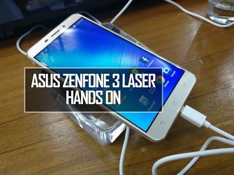 ASUS Zenfone 3 Laser (ZC551KL) Hands on