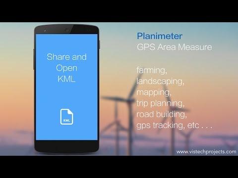 Video of Planimeter - GPS area measure
