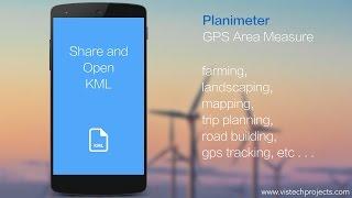 Planimeter - GPS area measure YouTube video
