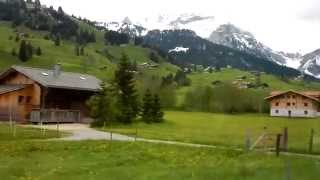 Gstaad Switzerland  City new picture : Gstaad - Les Diablerets Bus Ride (SWITZERLAND)