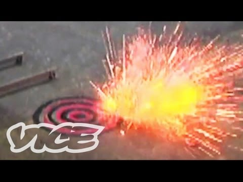 explosives - We rented an empty warehouse to test out some of the explosive recipes from The Anarchist Cookbook. Read the full article here: http://www.vice.com/read/tech...