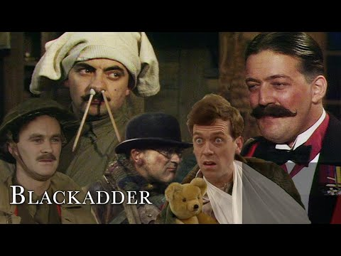 Blackadder in The Trenches | Blackadder Goes Forth | BBC Comedy Greats