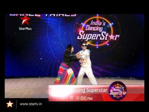 Mr. & Mrs. Roopesh from Baroda audition for India's Dancing SuperStar