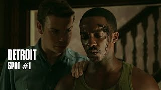 Abonnez-vous : http://bit.ly/AbonnezVousYThttps://www.facebook.com/Detroit.lefilm/Spot #1 de DETROIT, un film de Kathryn Bigelow avec John Boyega, Will Poulter, Jack Reynor, Anthony Mackie, Jacob Latimore, Hannah Murray.Sortie le 11 octobre 2017