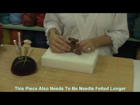 Needle Felting Firmness Tutorial