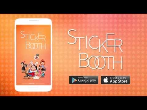 Video of StickerBooth
