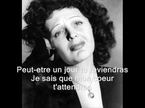 Tu Es Partout (Song) by Edith Piaf