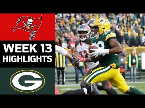 Video: Buccaneers vs. Packers | NFL Week 13 Game Highlights