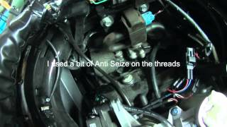9. How To: Change the spark plugs on a Ninja 650