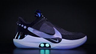 Nike Adapt BB self-lacing shoe works with your phone - Hands-On