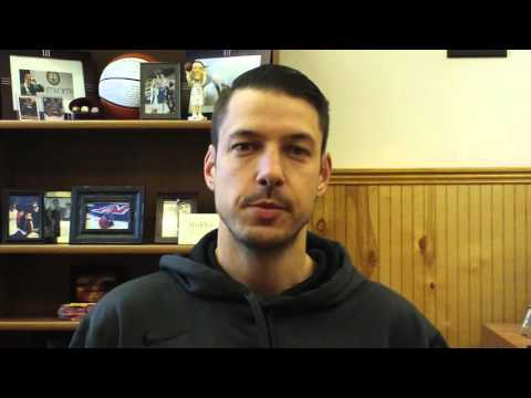 Matt Logie Men's Basketball Nov. 23, 2015