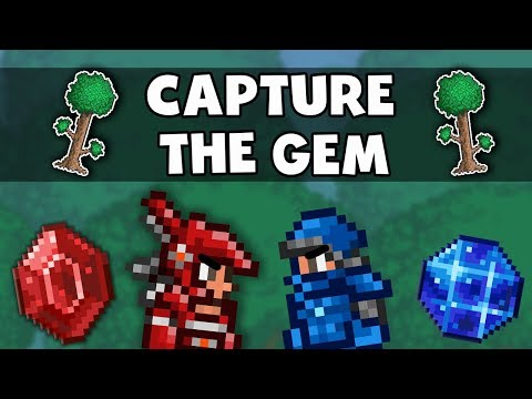 CAPTURE THE GEM! - Classic Terraria Style