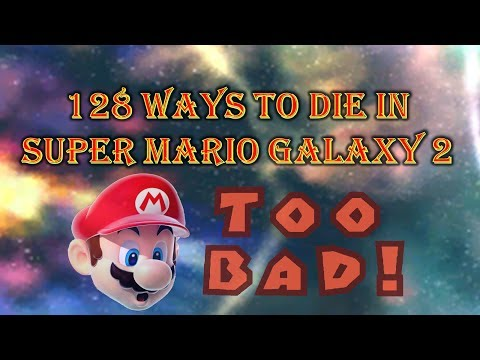 128 Ways to Die in Super Mario Galaxy 2