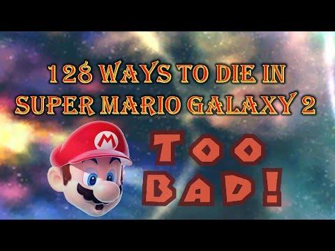 128 Ways to Die in Super Mario Galaxy 2