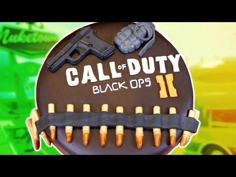 nerdy - Today I made a Black Ops 2 cake! I really enjoy making nerdy themed goodies and decorating them. I'm not a pro, but I love baking as a hobby. Please let me k...