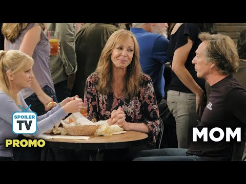 """Mom 6x08 Promo """"Jell-O Shots and the Truth about Santa"""""""
