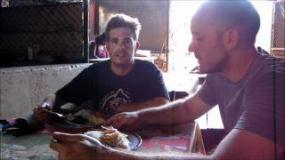 http://www.pausethemoment.com -- Rob and I explore the local food stalls at the markets in Granada, Nicaragua. We end up...