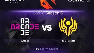 Arcade vs CIS Rejects, game 3