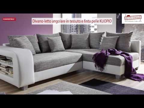 Divano-letto angolare KUOPIO
