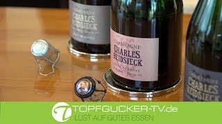 Hartmut discovers Charles Heidsieck with Sophie | Fête du Champagne | Topfgucker-TV