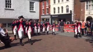 Brentwood United Kingdom  city photos gallery : US fife and drum band perform in Brentwood, UK