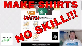 LINKS BELOW IN DESCRIPTION!In this video I give you a behind the scenes tour of the software that I use to create shirts to sell on Merch By Amazon (MBA) Print on Demand (POD) Service! This easy to use beginner to intermediate software is called Make Merch and it can have you designing your first shirt in MINUTES! This is SUPER FAST software with a short learning curve that can help you to get beautiful designs up and making money quickly! Check out MAKE MERCH TODAY at: http://www.DollarMoves.com/MakeMerchSign up for the Email Newsletter to be contacted with new information, videos and product recommendations at: http://www.DollarMoves.com