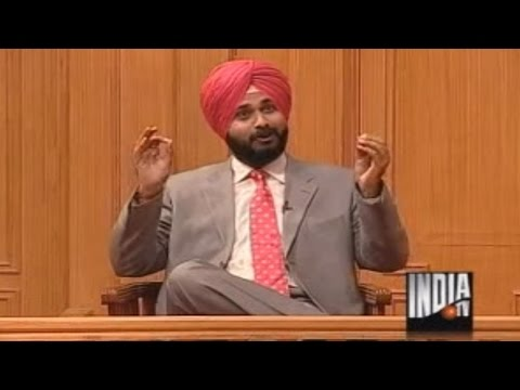 sidhu - Firebrand cricketer-turned-politician Navjot Singh Sidhu regales the audience of Rajat Sharmas most popular programme AAP KI ADALAT by spouting Sidhuisms soo...