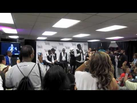 New Edition at Essence Fest 2011