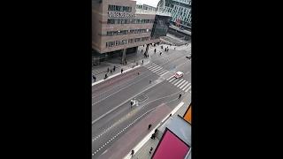 Truck Hits Pedestrians In Stockholm