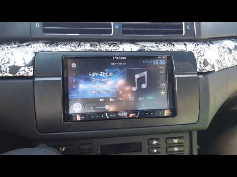 Pioneer 2 din in BMW e46 Facelift 330cd