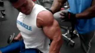 How To Get Big Biceps Fast - Great Workout
