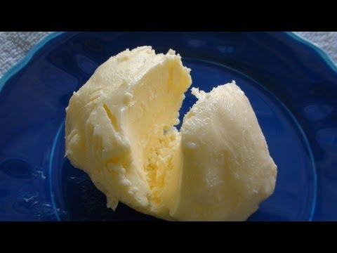 Homemade Butter In Just 3 Minutes - Video Recipe - English