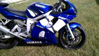10. 2002 Yamaha YZF R6