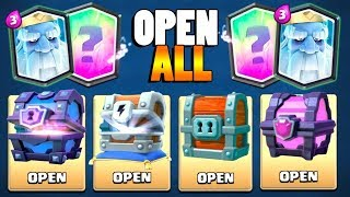 OH ROYAL GHOST PLEASE! | Clash Royale | SUPER MAGICAL CHEST AND NEW CHEST OPENING!
