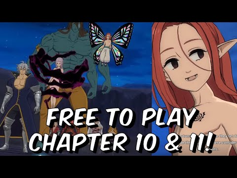 Free To Play Chapter 10 & 11 Playthrough! - TEN COMMANDMENTS - Seven Deadly Sins: Grand Cross