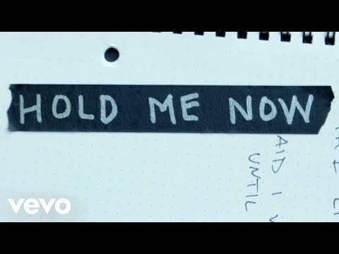 Hold Me Now Lyric Video