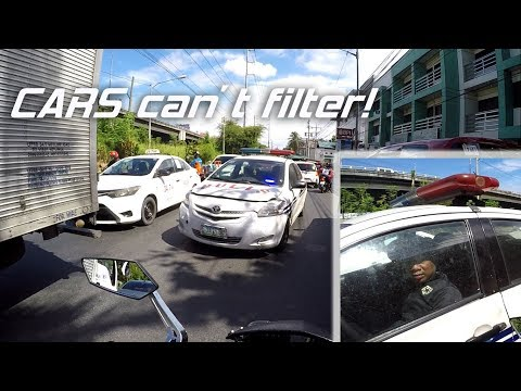 G1ZX: Cars cant filter + careless riders