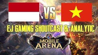 Mobile Arena!! Vietnam vs Indonesia! EJGaming jadi shoutcaster KW. semoga temen2 terhibur! kalo EJGaming jadi shoutcaster abis kerja langsung di P E C A T!channel resmi mobile arena disini:https://www.youtube.com/channel/UCBVBGNrag1o-V08vwYzoIwgvideo lengkapn pertandingan dari mobile arena garena bisa ditonton disini:https://www.youtube.com/watch?v=wkXXasUeWD0&t=1140sbuat guide yg lain bisa dicek disni ^^https://www.youtube.com/playlist?list=PLjDCdmU_NGpuQiyDy3QiMUeYjwIgunPpSJgn lupa teken subscribe biar ga ketinggalan video berikutnya teman2 ^^ thank youu~Terimakasih teman2 yang sudah subscribe, semoga di video2 berikutnya bisa menghibur jugaa.Mungkin kedepannya bakal riview game lain juga supaya teman2 tidak jenuh dan bosan ^^. Salam dari EJGaming ~~THANKS FOR SUBSCRIBEEE! i love you all!Music Provided by NoCopyrightSounds https://www.youtube.com/watch?v=nQT_2XS45UkTobu & Marcus Mouya - Running Awayhttps://www.youtube.com/watch?v=Lq2UrnDsI_sLaszlo - Fall to Lighthttps://www.youtube.com/watch?v=MEJCwccKWG0Tobu - Colorshttps://www.youtube.com/watch?v=lD4ZIzosp_cTobu &  Syndec - Duskhttps://www.youtube.com/watch?v=VtKbiyyVZksItro & Tobu - Cloud9https://www.youtube.com/watch?v=iaKgF1Vf5bQDistrion & Alex Skrindo - Entropyhttps://www.youtube.com/watch?v=FseAiTb8Se0Kovan & Electro-Light - Skylinehttps://www.youtube.com/watch?v=vb3ks4WllXAJim Yosef - Lightshttps://www.youtube.com/watch?v=IHtL_BKO804Alex Skrindo & Stahl! - Momentshttps://www.youtube.com/watch?v=8VDjPYcL-oUUnison - Aperturehttps://www.youtube.com/watch?v=A2AydJcUKR8Distrion & Electro-Light - Rubikhttps://www.youtube.com/watch?v=iaKgF1Vf5bQItro - PandaSong credit to : Tobu, Distrion, Marcus Mouya, Syndec, Alex Skrindo, Jim Yosef, Kovan, Elektro-Light, Stahl, Unison, Itrohttps://www.facebook.com/tobuofficialhttps://www.youtube.com/channel/UCp5s8oqsQc6_2JyCOMTO42ghttps://www.youtube.com/user/21noocead12https://www.youtube.com/user/Jimboowshttps://www.youtube.com/user/ElectroLightOfficialhttps://www.youtube.com